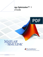 Simulink Design Optimization - Getting Started Guide