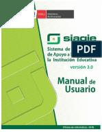 Manual Siagie v3