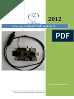Accesing Raspberry Pi Through Serial