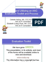 Building AAC Toolkit