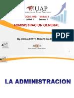 1. La Administracion.