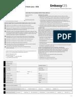 미국 Embassy USA University Pathways - Application Form
