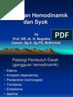 Gangguan Hemodinamik Dan Syok