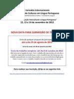 Circular 3 Primeiras Jornadas Internacionais Descobrindo Culturas Em Lingua Portuguesa