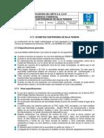 3.  ACOMETIDAS SUBTERRÁNEAS DE BAJA TENSIÓN