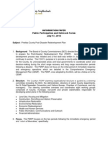 Council of North County Neighborhoods Information Paper on Pinellas County's Post Disaster Recovery Plan 15 July 2013 v 1.0