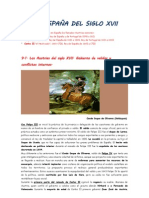 9.- LA ESPAÑA DEL SIGLO XVII