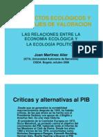 Cursoee Joan Martinez Alier Pres