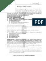 Study Material Union & Territories