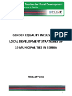 Gender equality inclusion in local development strategies in Serbia