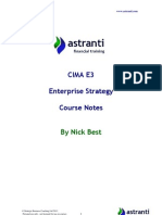 CIMA E3 Notes  -  Enterprise Strategy - Chapter 1.pdf