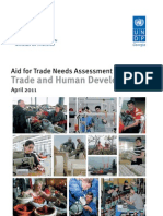 Georgia aid for trade needs assessment
