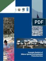 Economic analysis of Gökova special environmental protection area