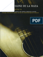 Eduardo Sainz de la Maza música para guitarra (platero y yo, lautrec)