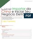 Livro Importaçao da China