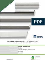 DECLARACIÓN AMBIENTAL DE PRODUCTOS GERDAU