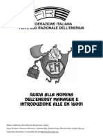 Guida Alla Nomina Energy Manager Introduzione Alle en 16001