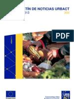 Alimentación sostenible en comunidades urbanas + Ciudades en recesión | Boletín URBACT Julio 2013