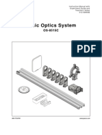 Basic Optics System Manual OS 8515C
