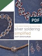 Excerpt from Silver Soldering Simplified by Scott David Plumlee