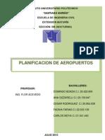 Planificacion de Aeropuerto