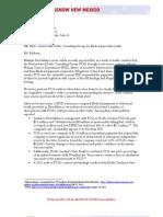 PCG OSA Letter