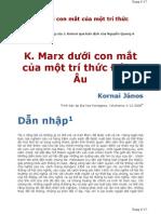 Marx duoi con mat mot tri thuc Dong Au -Kornai