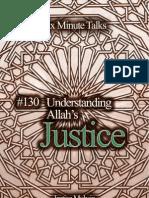 130 Understanding Allah's Justice