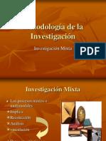 METODOLOGÍA DE INVESTIGACIÓN MIXTA