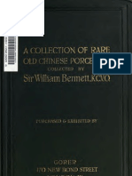 A collection of rare old Chinese porcelains