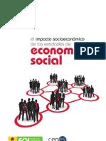 Impacto Socioeconomico Economia Social en España