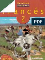 Vacaciones Santillana, Frances, 2 ESO