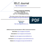 The Power of Extensive Reading - 2007