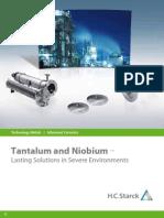 Tantalum and Niobium HC Starck