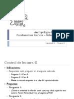 Antropología de la Salud - 3 de Mayo 2013
