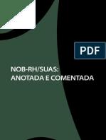 Livro Nob-rh Suas Anotada e Comentada