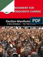 MDC Manifesto 2013