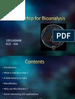 Lab on Chip for Bioanalysis