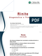 Rinite Diagnostico e Tratamento Ago2012