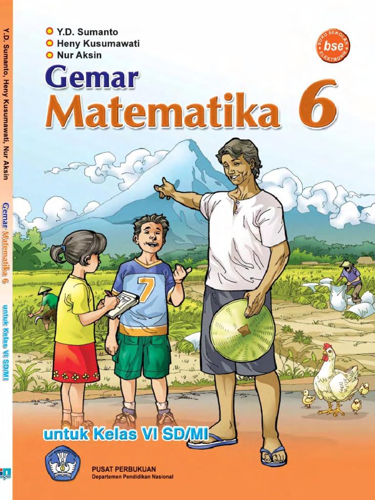 Sd Kelas 6 Gemar Matematika