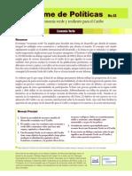 Informe de Políticas No. 13 - Hacia una economía verde y resiliente para el Caribe