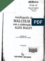 Autobiografia de Malcolm x