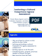 Conducting a Cultural Competency Assesment