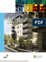 Emerging Trends in Real Estate US 2013