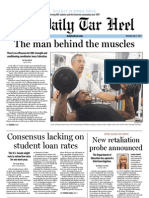 The Daily Tar Heel for July 11, 2013