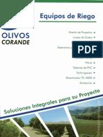 Olivos Corande Riego