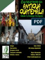 Afiche Excursion Antigua