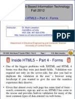 Inside HTML5 - Part 4 - Forms