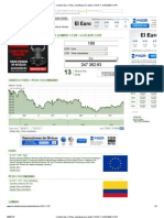 Cambio Euro _ Peso Colombiano (Cambio 1 EUR = 2,473