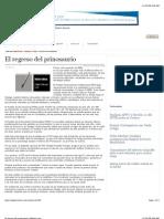 El Regreso Del Prinosaurio | Milenio.com